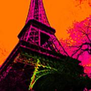 Eiffel 20130115v1 Art Print