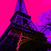 Eiffel 20130115v3 Print by Wingsdomain Art and Photography