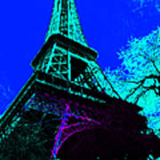 Eiffel 20130115v4 Art Print