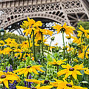 Eiffel Flower Art Print