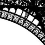Eiffel Metal Crochet  Art Print by Rita Haeussler