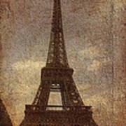 Eiffel Art Print by Soumya Bouchachi