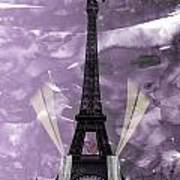 Eiffel Tower - Paris - Love Art Print