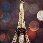Eiffel Tower-4 Art Print