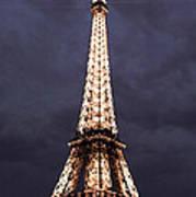 Eiffel Tower-1 Art Print