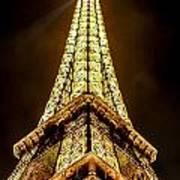 Eiffel Tower Four Art Print