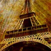 Eiffel Tower Print by Jack Zulli