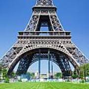 Eiffel Tower Lower Part Paris Art Print