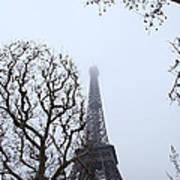 Eiffel Tower - Paris France - 011318 Art Print