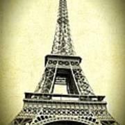 Mighty Eiffel Tower Art Print