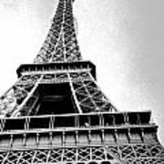 Eiffel Tower Up Close 3 Art Print
