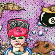 Eight Ball Art Print