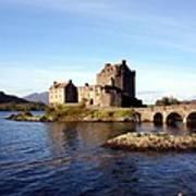 Eilean Donan Castle Kintail Scotland Art Print