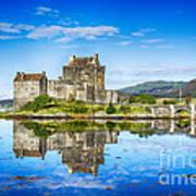 Eilean Donan Castle Reflections 2 Art Print