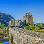 Eilean Donan Castle Walkway Art Print