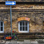 Einbahnstrasse Art Print