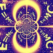 Einstein's Universe 3 Art Print