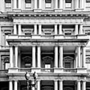 Eisenhower Executive Building Art Print
