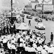 Eisenhower Victory Parade Art Print