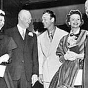 Eisenhowers At Easter Art Print