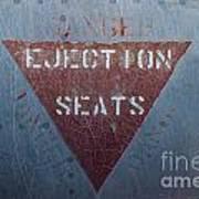 Ejection Seats Art Print