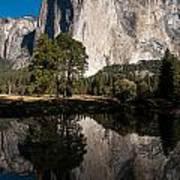 El Capitan In Yosemite 2 Art Print
