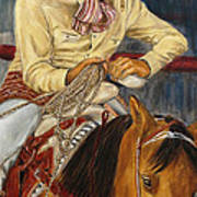 El Esperar Del Charro Art Print