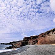 El Golfo On Lanzarote Art Print