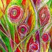 El Jardin De Laura - Laura's Garden  Art Print