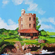El Morrillo Fort In Matanzas Cuba Art Print