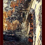 El Morro Arch With Border Art Print