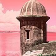 El Morro In The Pink Art Print