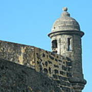 El Morro Parapet 1 Art Print by David  Ortiz