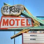 El Ray Motel Art Print