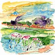 El Rocio 09 Art Print