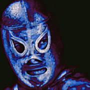 El Santo The Masked Wrestler 20130218m168 Art Print