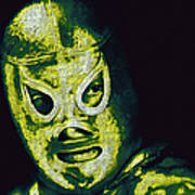 El Santo The Masked Wrestler 20130218p39 Art Print