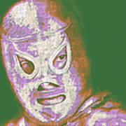 El Santo The Masked Wrestler 20130218v2m128 Art Print