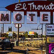 El Trovatore Motel Art Print