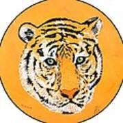 Elainas Tiger Art Print