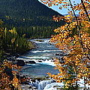 Elbow River View Art Print