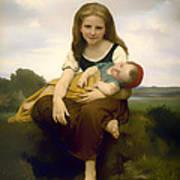 Elder Sister Art Print