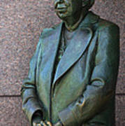 Eleanor Roosevelt Memorial Detail Art Print