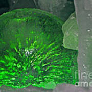 Electric Green Art Print