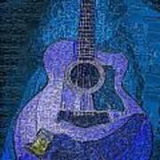 Electric Guitar Art Print