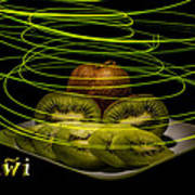 Electric Kiwi I Art Print