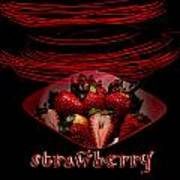 Electric Strawberry II Art Print
