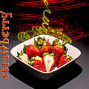 Electric Strawberry IIi Art Print