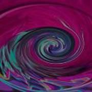 Electric Tidal Wave Art Print
