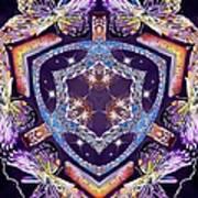 Electric Vortex Art Print